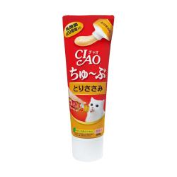 CIAO - 唧唧超奴 400 億個乳酸菌雞肉醬 (牙膏裝) - 80 克