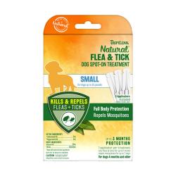 TropiClean - 純天然精油滅蚤及蜱蟲點滴 (小型犬用) - 3x1.5 毫升