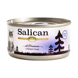 Salican - 鮮雞肉配方貓罐頭 (清湯) - 85 克