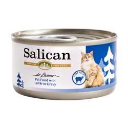 Salican - 羊肉配方肉汁貓罐頭 - 85 克