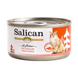 Salican - 吞拿魚配方肉汁貓罐頭 - 85 克