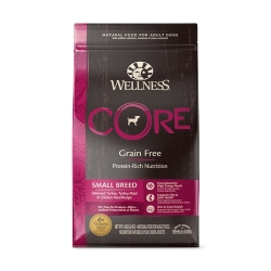 Wellness 寵物健康 - CORE 無穀物小型成犬配方 - 4 磅 到期日:2021-10-20