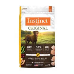 Instinct 生鮮本能 - Original 經典無穀物雞肉狗糧 - 22.5 磅