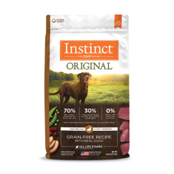Instinct 生鮮本能 - Original 經典無穀物鴨肉狗糧 - 20 磅