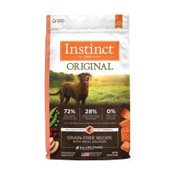 Instinct 生鮮本能 - Original 經典無穀物三文魚狗糧 - 20 磅