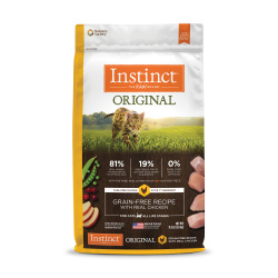 Instinct 生鮮本能 - Original 無穀物雞肉貓糧 - 11 磅