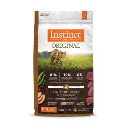 Instinct 生鮮本能 - Original 無穀物鴨肉貓糧 - 10 磅