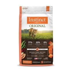 Instinct 生鮮本能 - Original 無穀物三文魚貓糧 - 10 磅