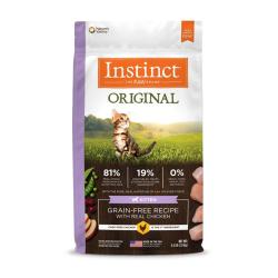 Instinct 生鮮本能 - Original 無穀物雞肉 BB 貓糧 - 4.5 磅