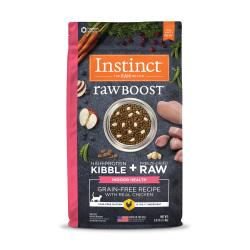 Instinct 生鮮本能 - Raw Boost 原食生鮮無穀物雞肉貓糧 (室內健康) - 5 磅