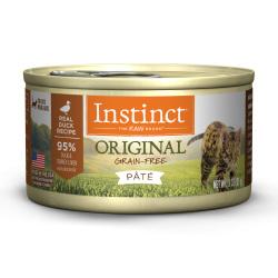 Instinct 生鮮本能 - Original 鴨肉貓罐頭 - 3 安士