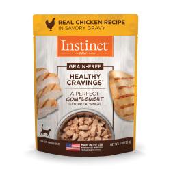 Instinct 生鮮本能 - Healthy Cravings 雞肉貓貓妙鮮包 - 3 安士