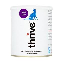 Thrive 脆樂芙 - 冷凍脫水雞肝貓小食珍寶裝 - 135 克 到期日:2021-12-12