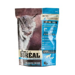 Boreal - 無穀物全貓三魚鮮肉配方 - 5 磅 到期日:2021-08-31