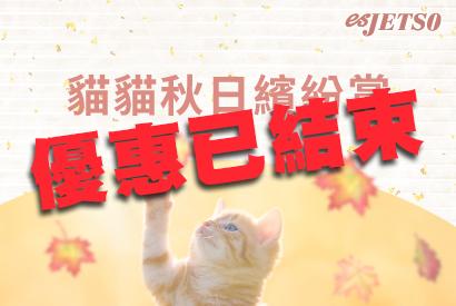 貓貓秋日繽紛賞 5/10 - 20/10